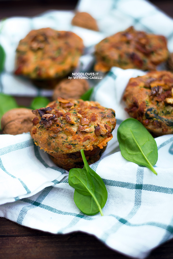 Muffins senza glutine salati