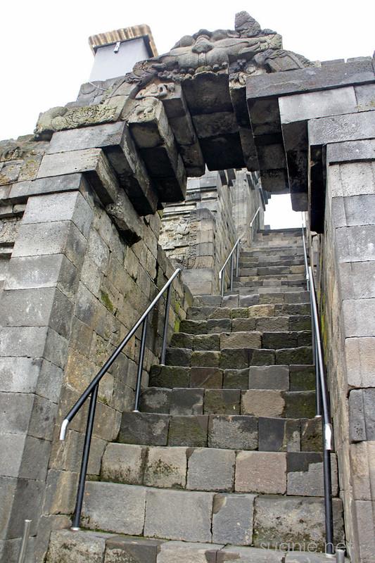 Borobudur, Yogyakarta - stairs