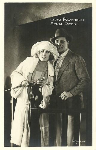 Livio Pavanelli and Xenia Desni