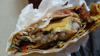 Taco Wrap from Charlie's Raw Squeeze Greenslopes