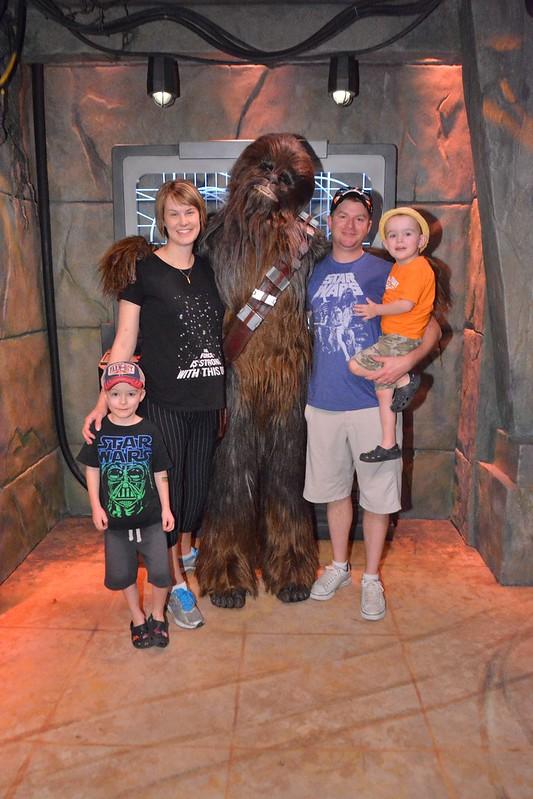 Meeting Chewbacca!
