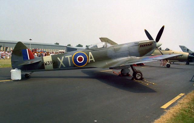 RW393/XT-A Spitfire XVIE