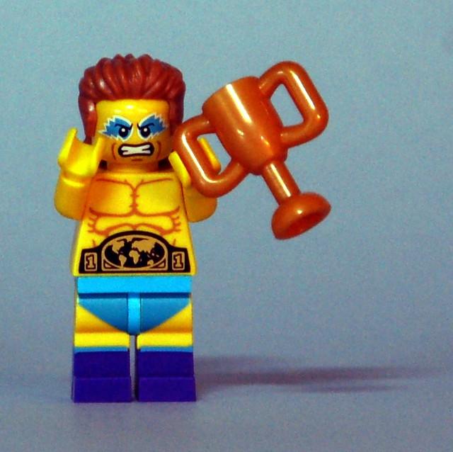 71011 LEGO Minifigures - Series 15 - Wrestling Champion