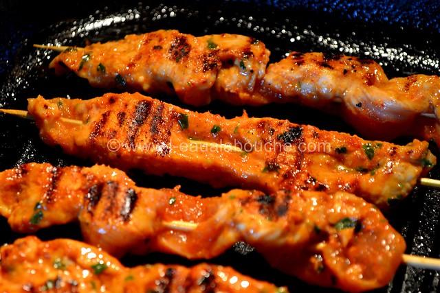 Brochettes de Dinde au Curry Rouge et Ananas © Ana Luthi Tous droits réservés 0008