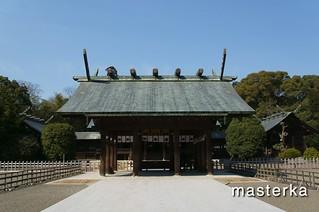 宮崎神宮の参拝