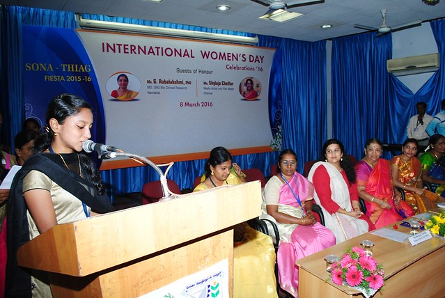 International Women's Day Celebrations 2016