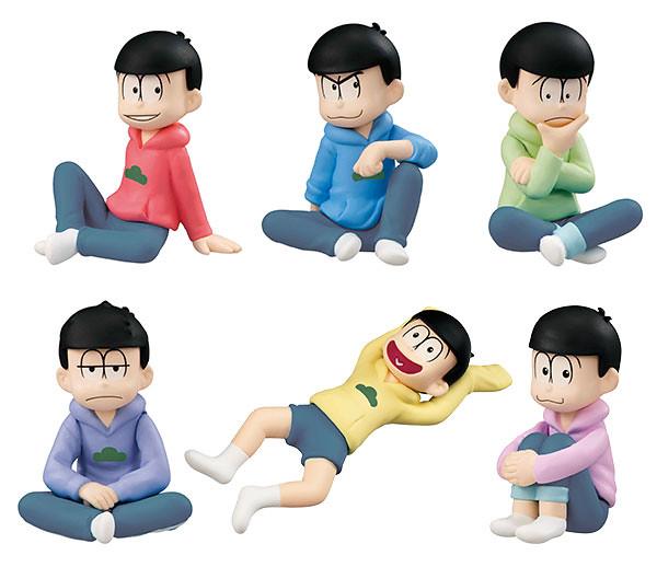 MegaHouse 掌上夥伴系列 《小松君》人氣六胞胎