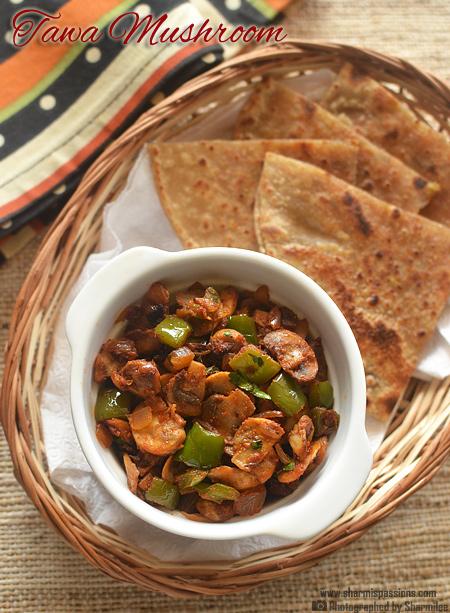 Tawa Mushroom Recipe