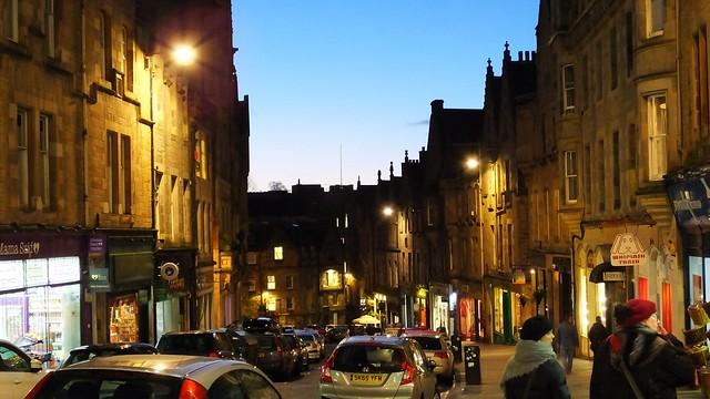 Cockburn Street, dusk