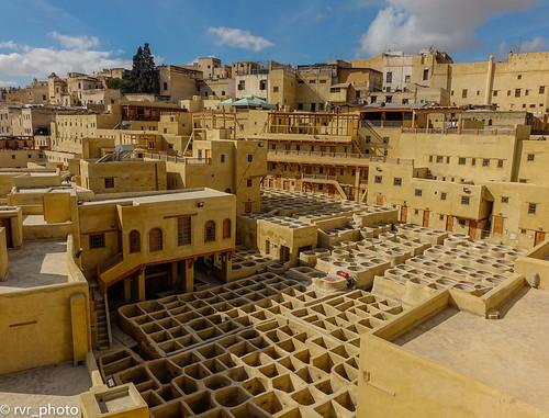 Curtiduría Chouwara, Medina de Fez