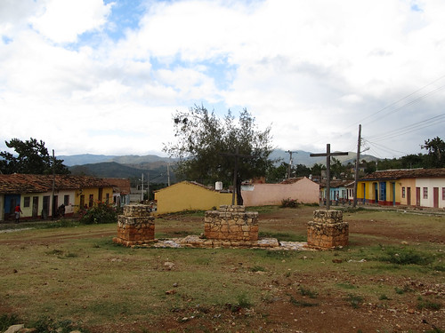 Trinidad: Place des Trois Croix