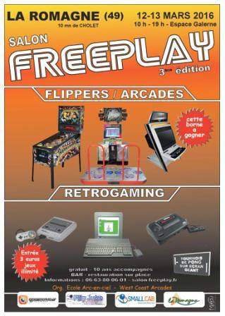 affiche salon FREEPLAY 2016