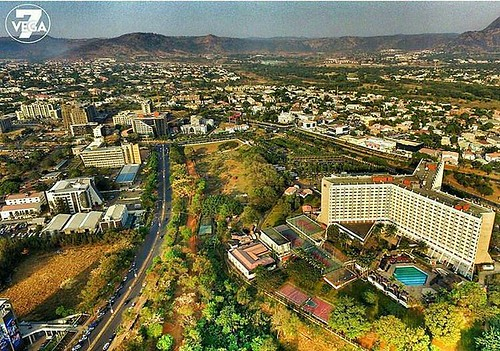 #TravelAfricastory Story from @abuja - Photo Credit: @vega7photography Maitama. #Abuja #abujafct #architecture #beautiful #engineering #landscape #igers #igdaily #drone #picoftheday #pictureoftheday #photography #photooftheday #trees #instadaily #aerial #