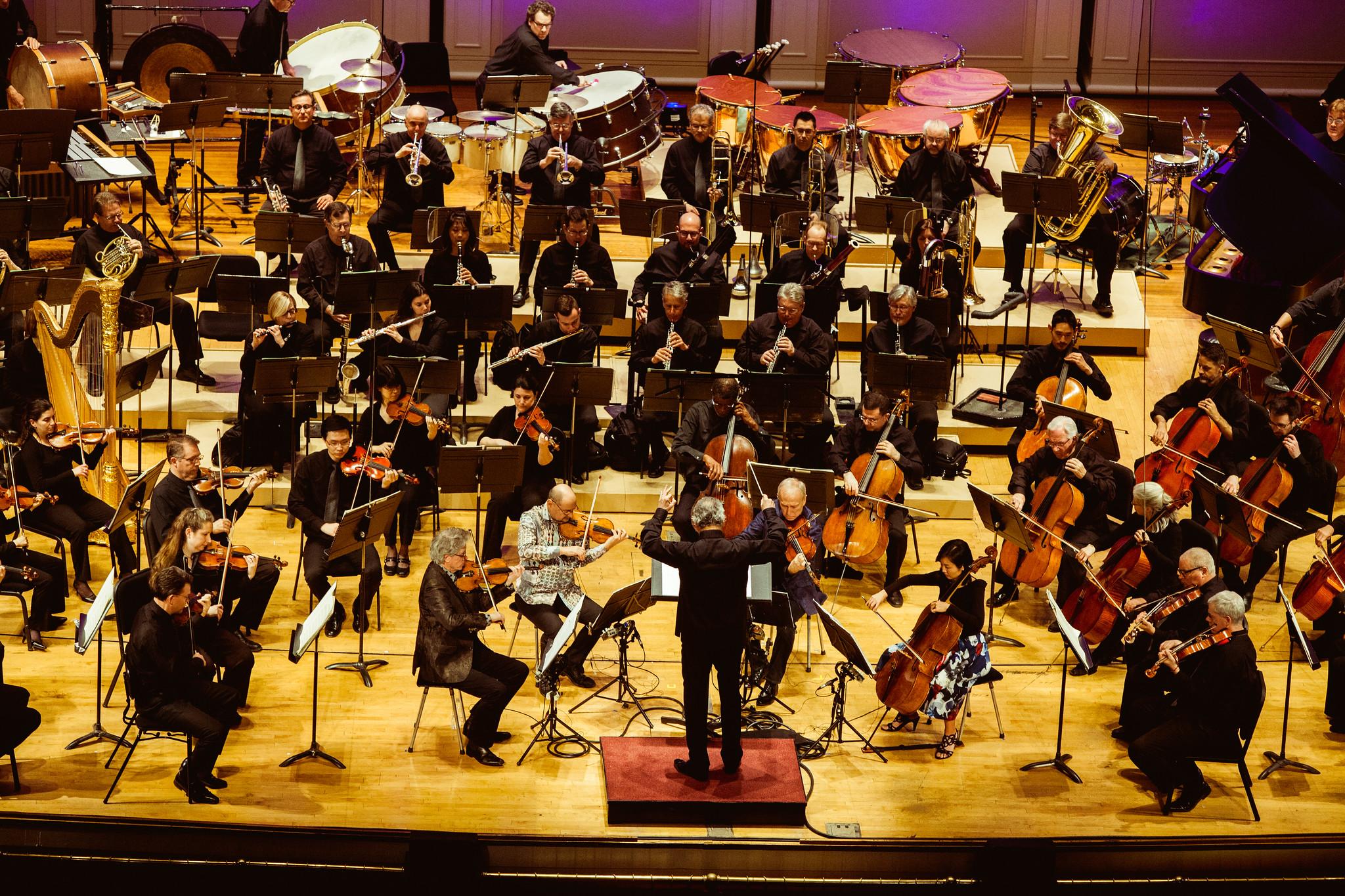 Kronos Quartet and Cincinnati Symphony Orchestra