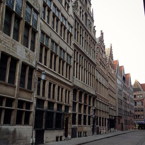 Rubenshuis, Antwerp - Street