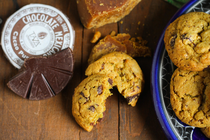 Piloncillo Cookies with Mexican Chocolate (2)
