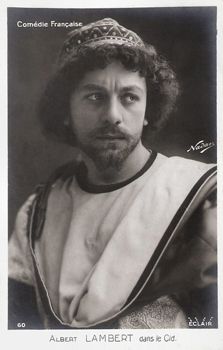 Albert Lambert in Le Cid