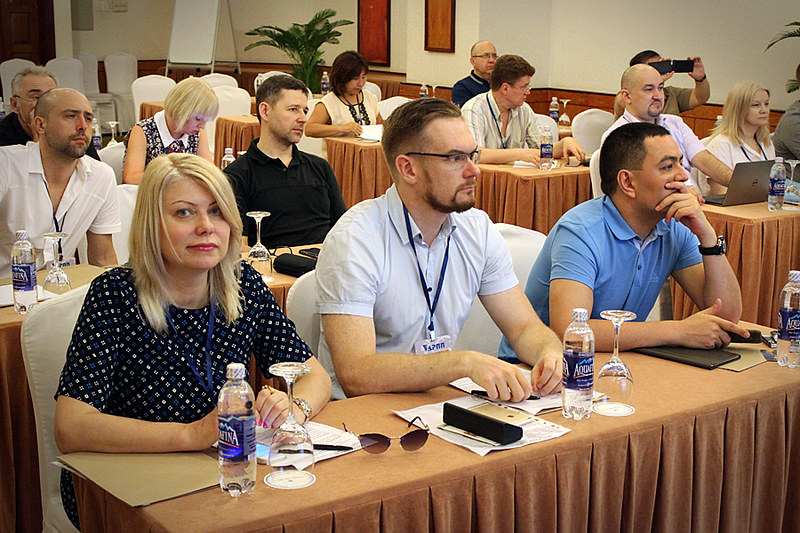 Участники медиаконференции АРПП