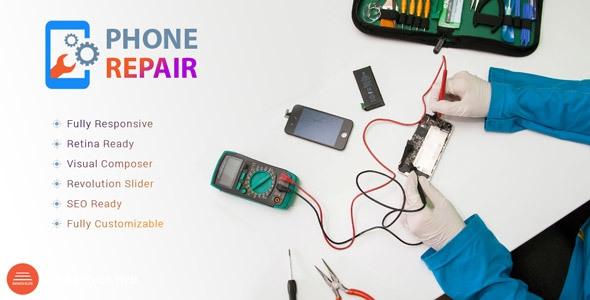 PhoneRepair v1.0 - Mobile, Tablet, Phone Repair Shop WP