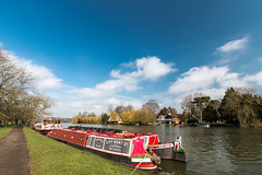 Barge on the Thames at Cookham