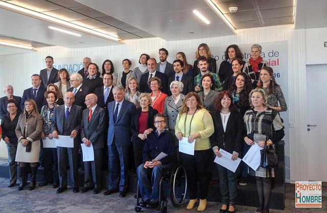 Entrega de Ayudas a Proyectos de Acción Social de Fundación Mutua Madrileña