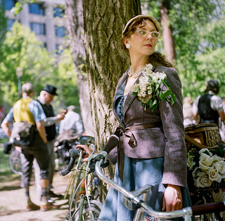 Meghan, The Tweed Ride 2016