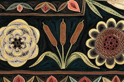 Jardin by Paper Artist Lisa Nilsson - Cattail Detail