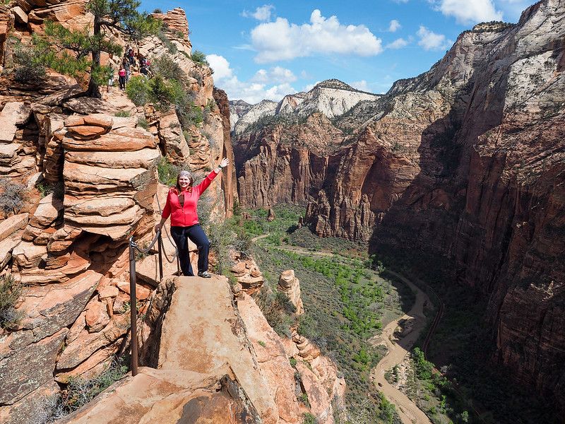 Angel's Landing Trail in Zion National Park