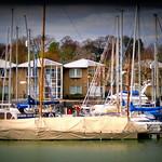 Floating at Preston Docks