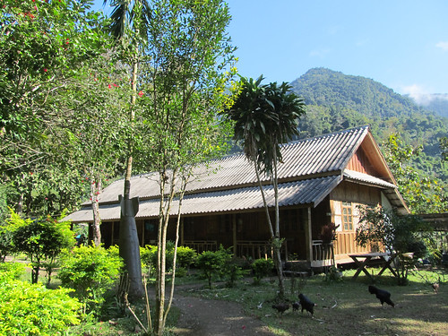Muang Ngoi: notre guesthouse