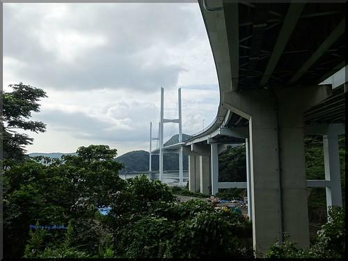 Photo:2015-09-06_T@ka.'s Life Log Book_女神大橋でフォトウォーク 海と橋と太陽と【長崎】_01 By:logtaka