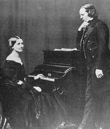 Clara e Robert Schumann