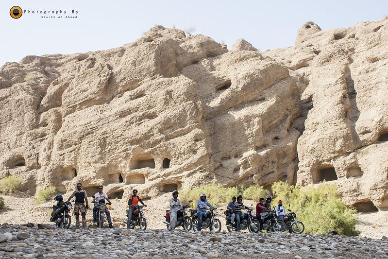 Trip to Cave City (Gondhrani) & Shirin Farhad Shrine (Awaran Road) on Bikes - 24168591845 7fd918a92c c