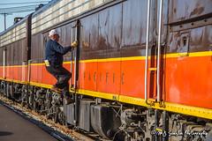 SLRG 518 | EMD E8 | Batesville Station