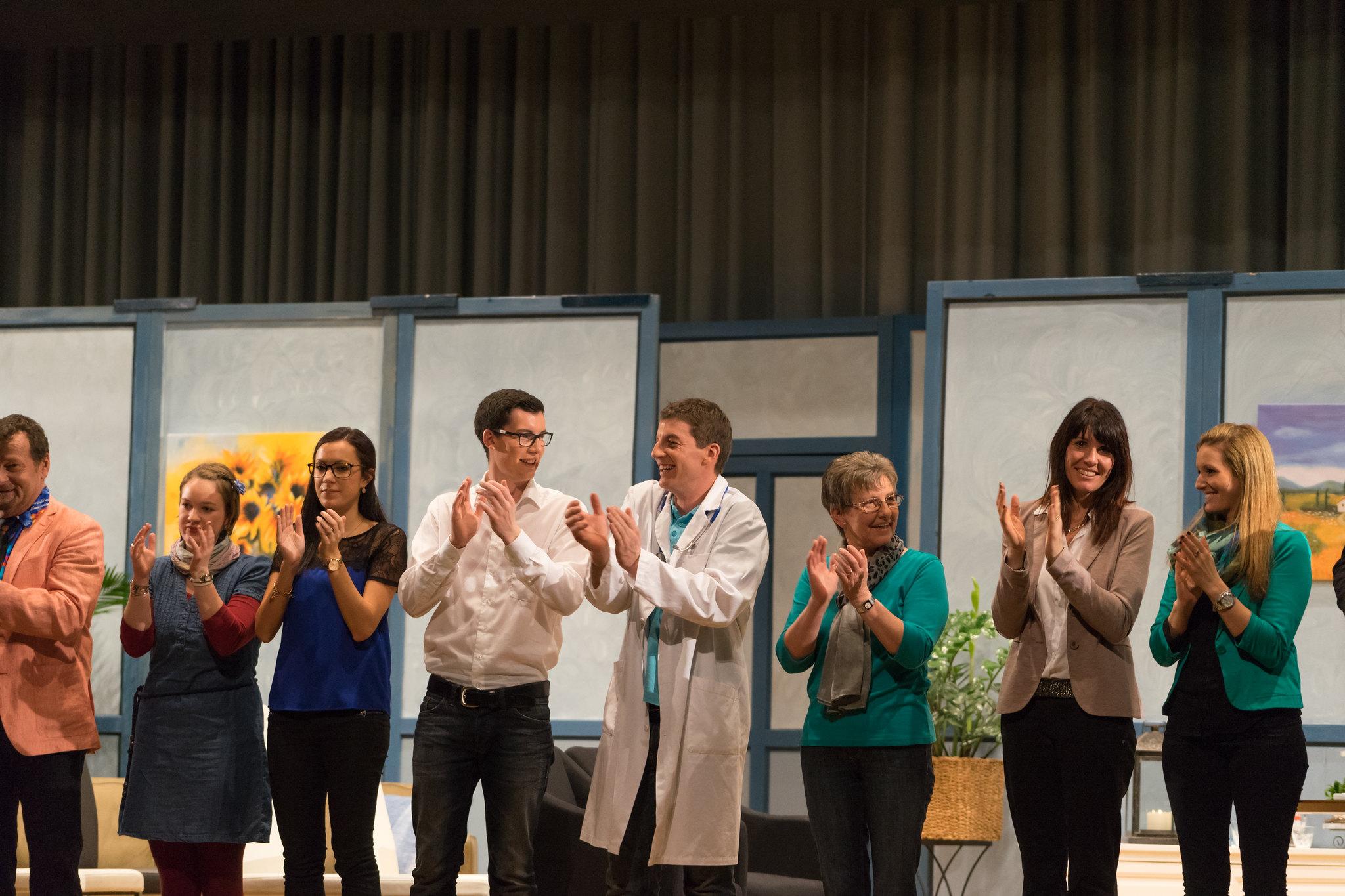 """Theaterstück """"Rekordverdächtig"""" Theatergruppe Grossdietwil 2015"""