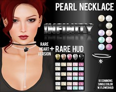 !NFINITY Pearl Necklace Gacha Key