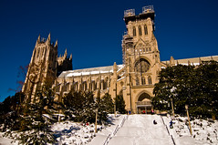 Blizzard of 2016 - At the Cathedral - 01-24-16