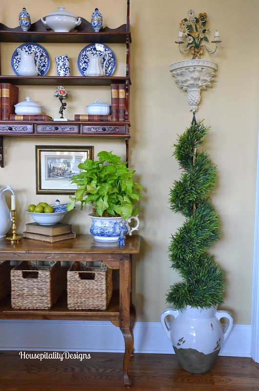 Faux topiary - Housepitality Designs