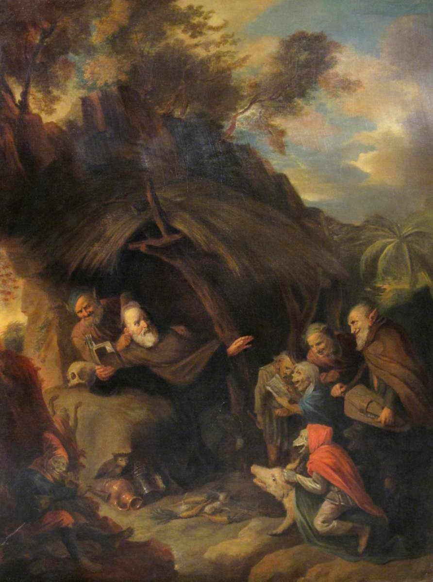 David Ryckaert The Younger - The Temptation of Saint Anthony, 17th C