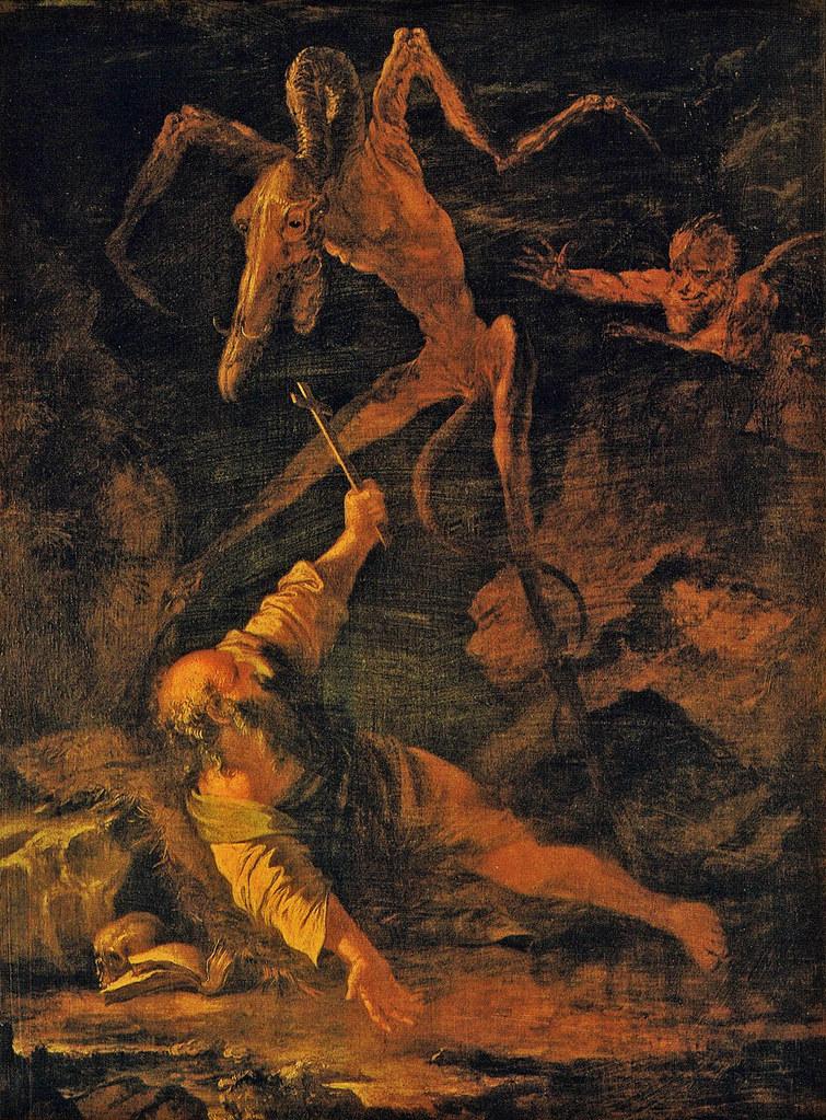 Salvator Rosa - The Temptation of St. Anthony, 1645