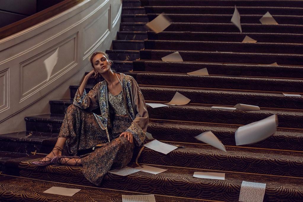 Аня Рубик — Фотосессия для «Vogue» CH 2016 – 1