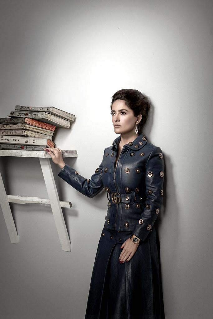 Сальма Хайек — Фотосессия для «Citizen K» 2015 – 4