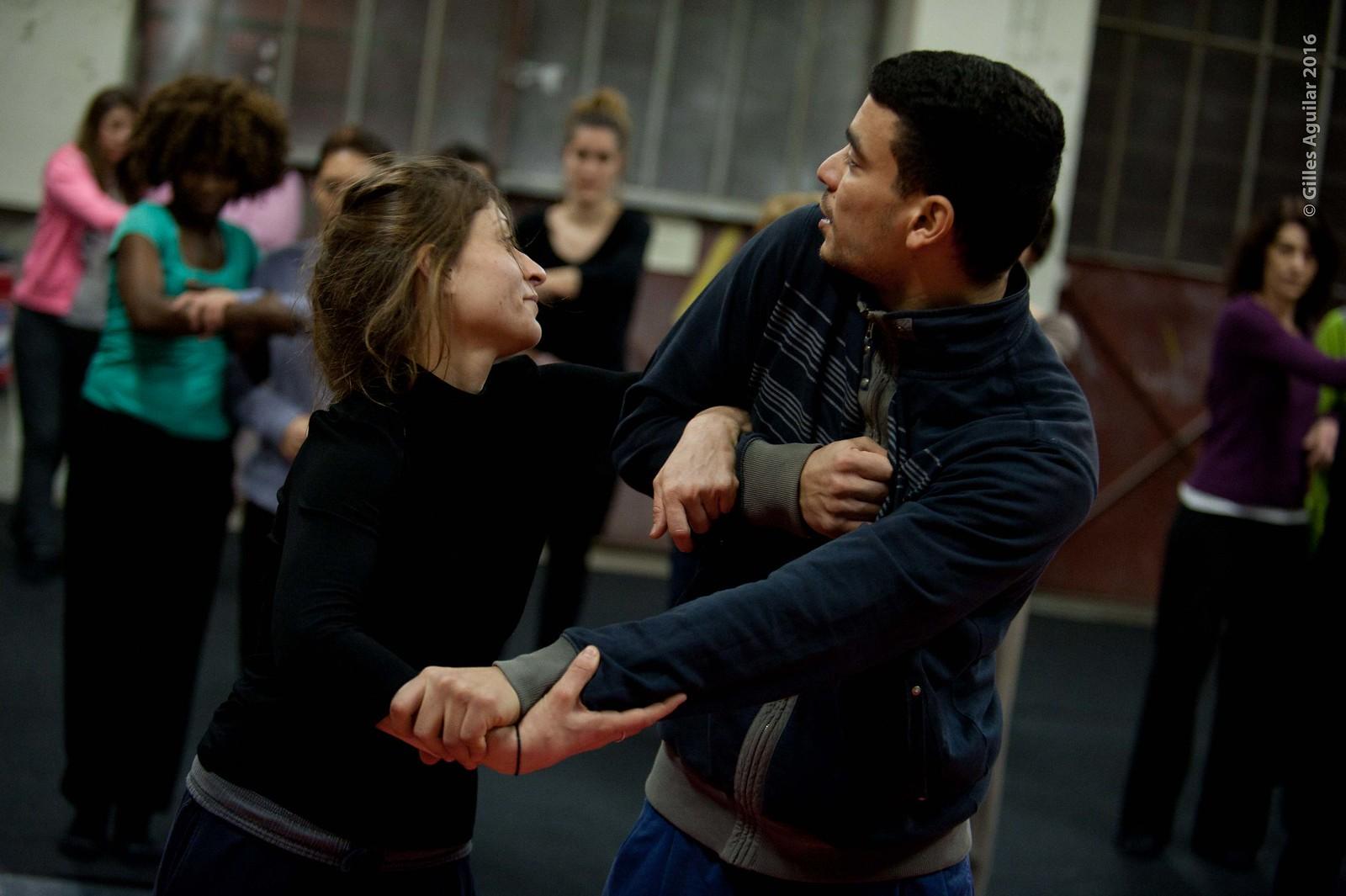 Répétition 10-11/02 DÉFILÉ de la Biennale de la Danse