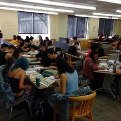 Magazine workshop in Gleeson Library