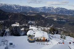 Jóga na sněhu – Pranayama na vrchu Zauberberg v 1 340 metrech