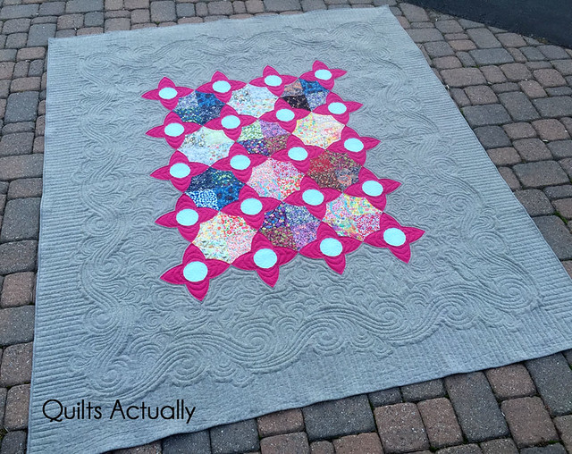 Liberty and Linen Meadown Quilt