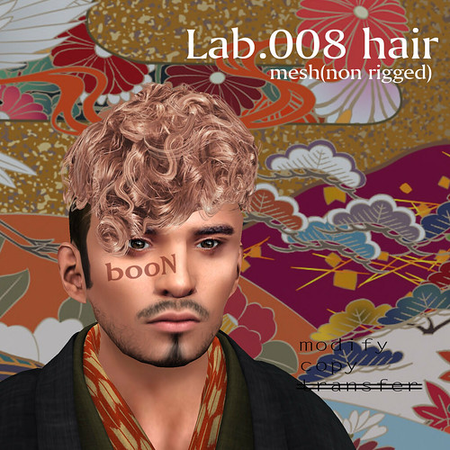 booN Lab.008 hair