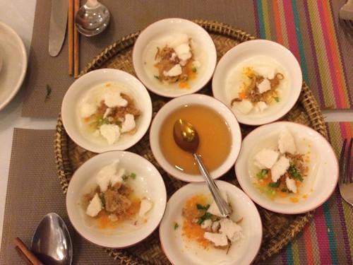 Hué: crêpes de riz