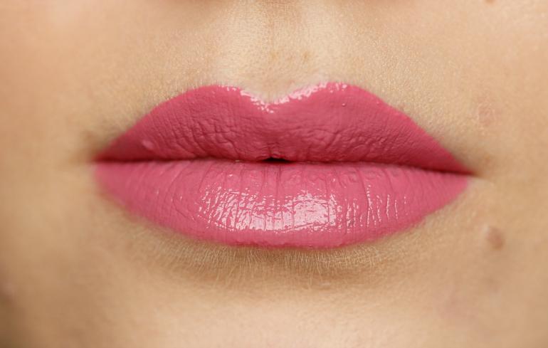 smashbox be legendary lipstick, smashbox panorama pink, smashbox be legendary lipstick swatches, smashbox review, smashbox be legendary lipstick review, roze lipstick, beautyblog, donker haar, fashion blogger, fashion is a party