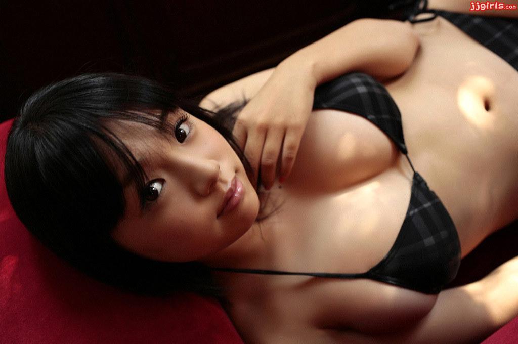 Ai Shinozaki Black Bikini (10)